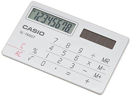 カシオ パーソナル電卓 カードタイプ 8桁 SL-760GT-N