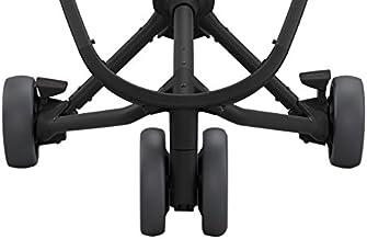 Quinny Zubehör, Ersatzteil Räder Set für Quinny Kinderwagen Zapp Xpress, Zapp Flex & Zapp Flex Plus, 3-Rad-Set, graphite grey
