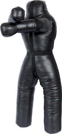 lisaro Brazilian UFC Jiu Jitsu Grappling Dummy, MMA Grappling, Ringerpuppe-Wrestling Dummy schwarz, Ungefüllt.170CM LRD-Model