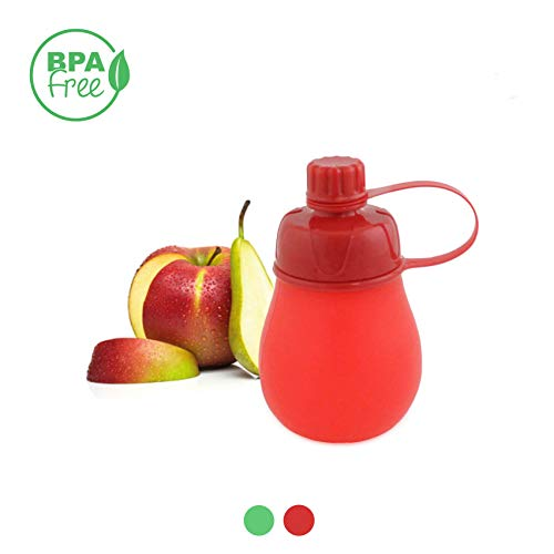 Gourde Compote Silicone-Couleur aletoire