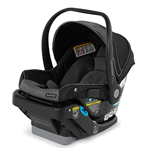 Review Summer Affirm 335 DLX Rear-Facing Infant Car Seat, Slate Gray – Including Easy-to-Install S...