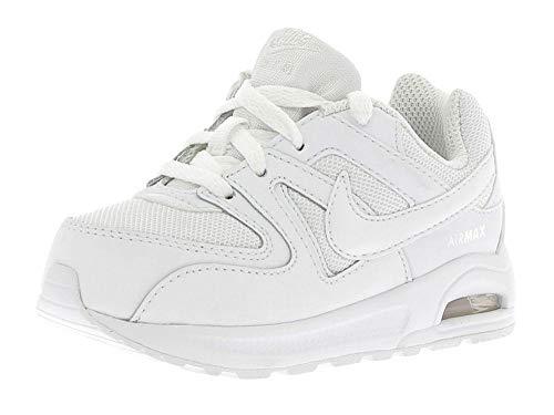 Nike Air Max Command Flex (TD), Scarpe Running, Bianco (White/White-White 101), 26 EU