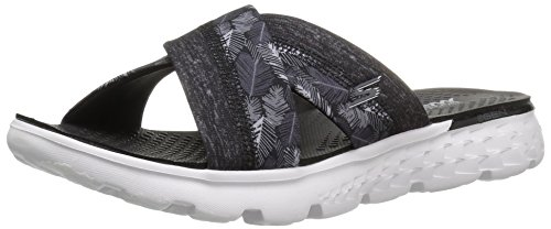 Skechers Damen On-the-go 400 Plateausandalen, Schwarz (Bkw), 40 EU