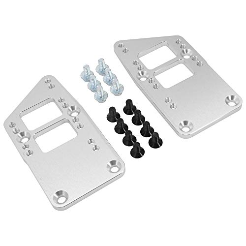 HEKA for LS Swap Motor Mount Conversion Plate Adapter Plates Adjustable 4 Position Billet Aluminum