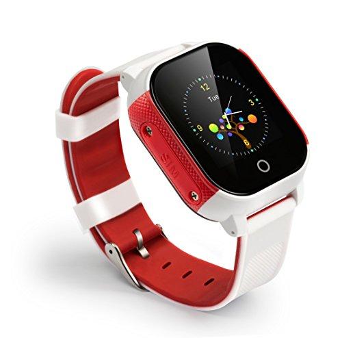 Bestie 3G Kids - Reloj inteligente para niños, con rastreador GPS, funciona con cualquier tarjeta SIM EE libre, sin contrato