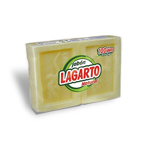 Lagarto pastillas de Jabón Natural - Paquete De 20 Pastillas de 150 Gr -Total: 3000 Gr