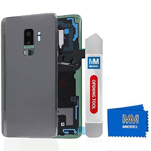 MMOBIEL Tapa Bateria/Carcasa Trasera con Lente de Cámara Compatible con Samsung S9...