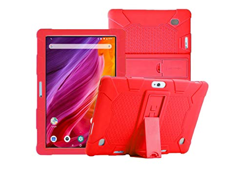 YGoal Funda para TECLAST M30,  Dragon Touch K10,  YOTOPT 10,  BEISTA 10,  LNMBBS 10,  MEBERRY 10,  Vankyo Matrix Pad Z4 10,  Dragon Touch 10 and Dragon Touch Max10,  Rojo