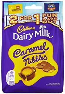 Cadbury Dairy Milk Caramel Nibbles Chocolate Bag (120g x 1)