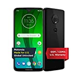Moto G7 with Alexa Hands-Free – Unlocked – 64 GB – Ceramic Black (US Warranty) – Verizon, AT&T,...