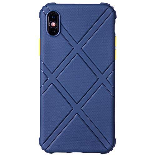 Schutzhülle für iPhone X/XS, TPU, Blau