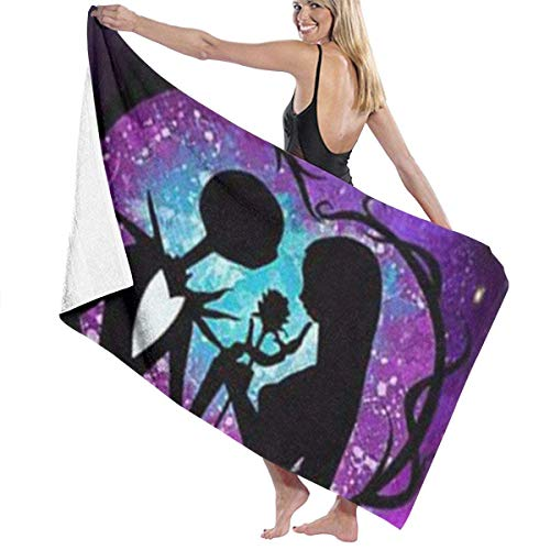 DJNGN Bath Towels Toalla de baño Corpse Bride de Tim Burton, Toalla de Calidad súper Suave, de Secado rápido y Altamente Absorbente 32 X 52