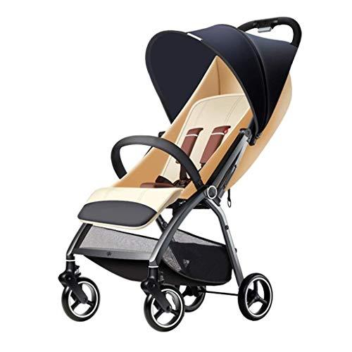 Poussettes et landaus Parapluie Pliant Chariot Ultra-léger bébé Portable Voiture sur Le Landau Avion Poussette bébé