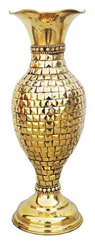 Brass Flower Vase - 4