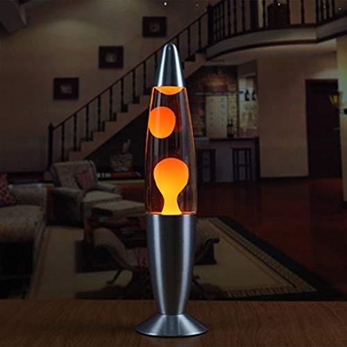 deYukiko Niedliche Metallbasis Lava Lampe Wachs Vulkan Stil Nachtlicht Qualle Nachtlicht