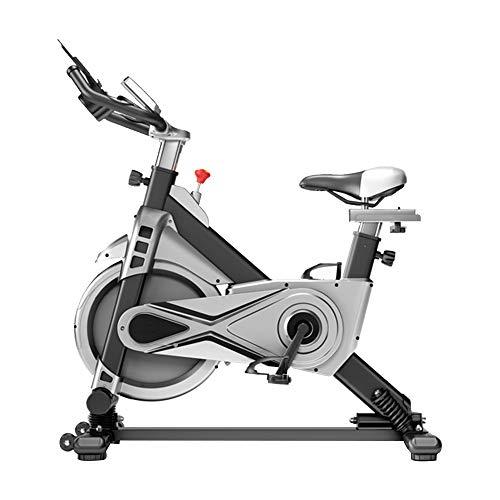 CHENGREN Oscillazione Cyclette Indoor Bikes Ciclismo Cyclette Cardio Workout Macchina Upright Bike Cinghia di Trasmissione, può Sopportare 120KG per Palestra di Casa,Nero