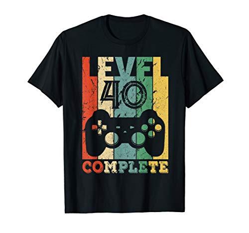Herren 40. Geburtstag Männer 40 Jahre Geschenk Jahrgang 1980 Lustig T-Shirt