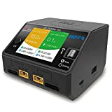 HOTA D6 Smart Charger DC 2X325W 2X15A Balance Battery Charger for NiZn Nicd NiMH...