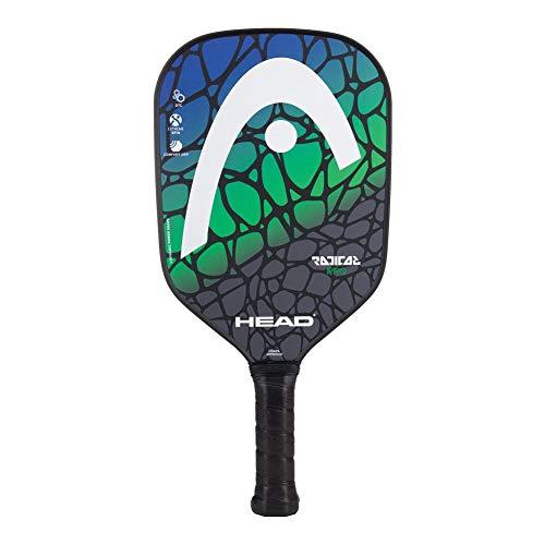HEAD Fiberglass Pickleball Paddle - Radical Pro Textured Paddle w/ Honeycomb Polymer Core & Comfort Grip