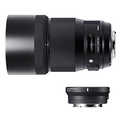Sigma 240954_89E965 - Kit 135 F/1.8 Art EOS + MC-11, Color Negro