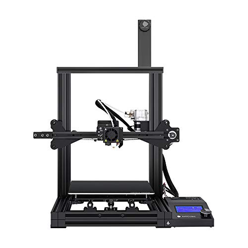 ANYCUBIC Mega Zero FDM 3D Printer UL Certified Power Supply + Resume Printing, Extruder Support TPU/PLA 8.66''(L) x8.66''(W) x9.84''(H) Print Size