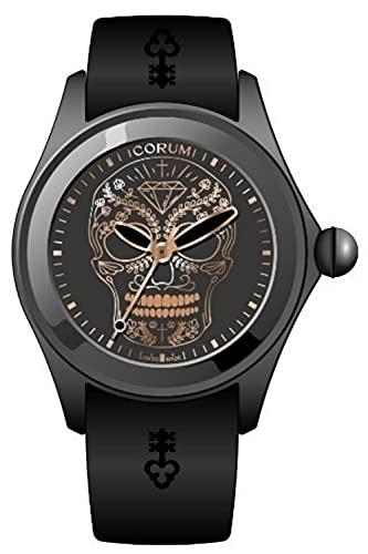 Bubble 47 skull orologio Uomo Analogico Automatico con cinturino in Gomma 082.310.98.0371.SM04