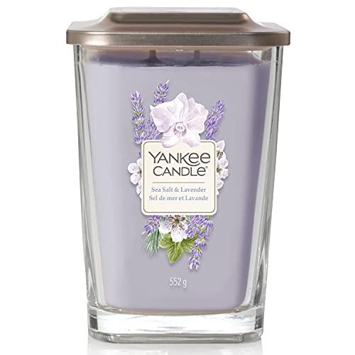 Yankee Candle Candela profumata in vetro, viola, 552 g