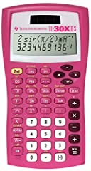 Basic scientific and trigonometric functions Hard plastic, color-coded keys Two-line display, 11 digit scrollable entry line with 10-digit answer and two-digit exponent line Dual power - solar and battery powered Impact-resistant cover with quick-ref...