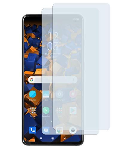 mumbi Schutzfolie kompatibel mit Xiaomi Mi 9T / Xiaomi Mi 9T Pro Folie klar, Bildschirmschutzfolie (2x)