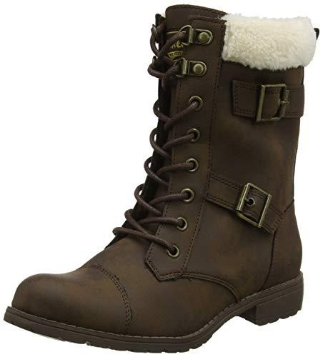 Rocket Dog Damskie buty Billie Combat Boots, brązowy - Braun Brown C00-39 eu