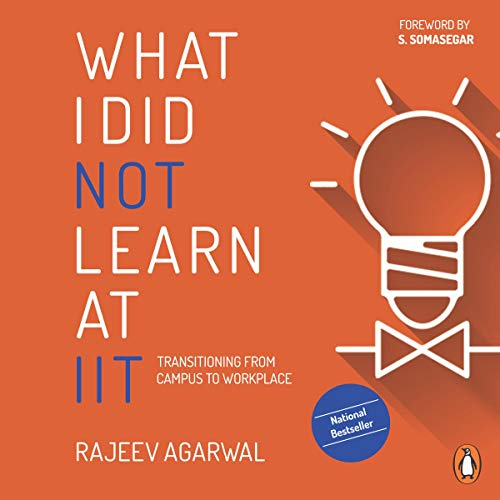 What I Did Not Learn at IIT audiobook cover art