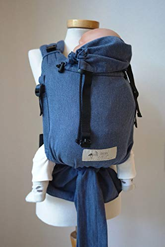 Storchenwiege BabyCarrier Jeans - porte-bébé