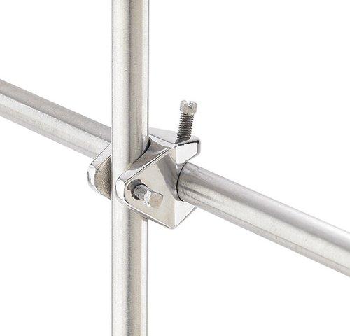 0.51 Diameter x 12 Length Talboys 916143 Aluminum Labjaws Lab-Frame Rod