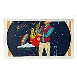 BEITUOLA Manta de Tiro multifunción,Saxofonista Jugador en Escena Jazz Sax,Nuevas Mantas Personalizadas personalizadas-80 * 135cm