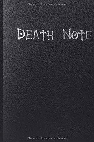 DEATH NOTE: ¡Novedad! 2020 cuaderno coleccionable de Death Note School, gran revista de escritura