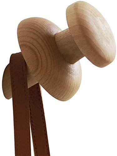 Kleerhangers, kledingrek, kledinghanger, pushpin creatieve kledingstandaard, muursleutels, paraplu, tas, hoedenrek, woonkamer veranda slaapkamer badkamer (logokleur, 1 per verpakking)