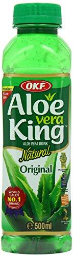 OKF King Original Aloe Vera Drink, 500 ml, Pack of 20
