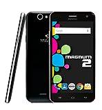 MYWIGO Magnum 2 - Smartphone Libre de 5' (Quad Core, 1 GB de RAM, 8 GB de Memoria Interna, cámara Trasera de 13 MP, Android) Color Negro