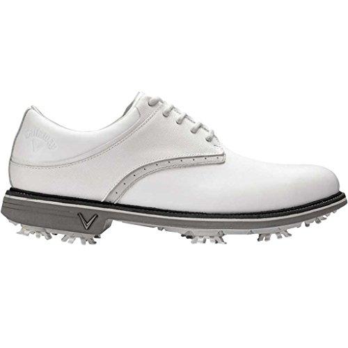 Callaway Apex Tour Zapatillas de Golf, Hombre, Blanco (White), 47 EU