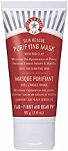 First Aid Beauty Skin Rescue Purifying Mask: Peel Off Face Mask and Pore Minimizer with Red Clay. Perfect for Oily Skin to Remove Excess Oil (3 ounce)