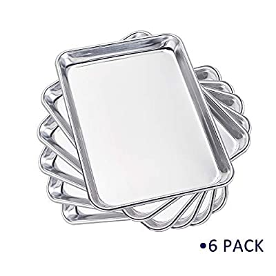 Sheet Pan Aluminum Bakeware Set 6 Pack 9'&#...