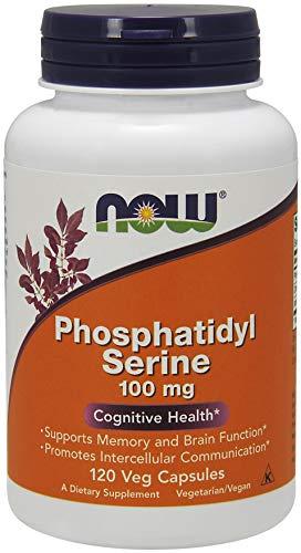 Now Foods Fosfatidilserina, 100 Mg Es 140 G, 120 Unidades
