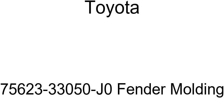 TOYOTA Genuine Portland Mall 75623-33050-J0 Molding Fender Free shipping on posting reviews