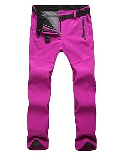Unisex Pantalones De Esqui Snowboard Trekking Hombre Decathlon Montaña Rosa F S