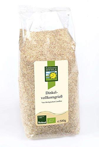 Bohlsener Mühle Bio Dinkelvollkorngrieß (2 x 500 gr)