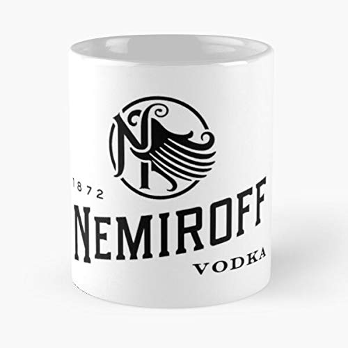 Nemiroff Merchandise Classic Mug - Ceramic Coffee White (11 Ounce) Tea Cup Nursing Appreciation Gifts For Nurse Practitioner.