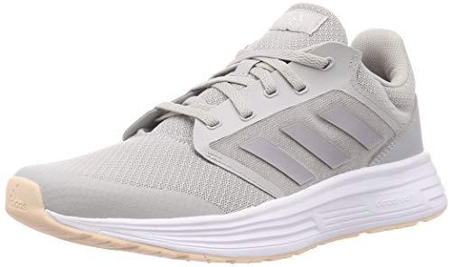 Adidas Galaxy 5, Zapatillas de Correr Mujer, Gris (Grey/Glory Grey/Pink Tint), 38 EU