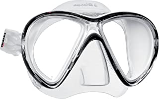 Mares Mask X-VU Liquid Skin Diving Googles - White/WH, Size BX BXWBKWH by Mares