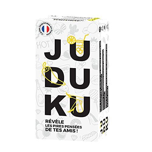 JUDUKU - Jeu de Cartes Original - Jeu de Société Adulte pour Apéro & Soirées - Edition Limitée Blanc