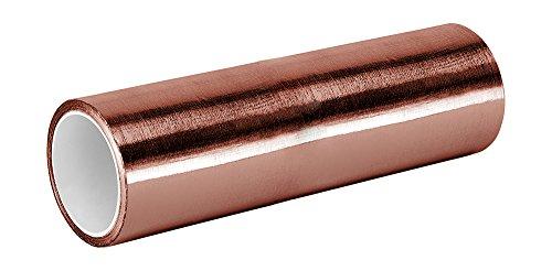 3M - 1-6-1126(PK 2) 1126 Foil Tape, 1' Width x 6yd. Length,Copper